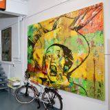 Acryl auf Leinwand, 300 x 200 cm