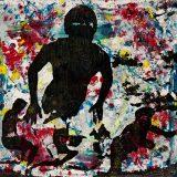 Acryl auf Leinwand, 90 x 80 cm